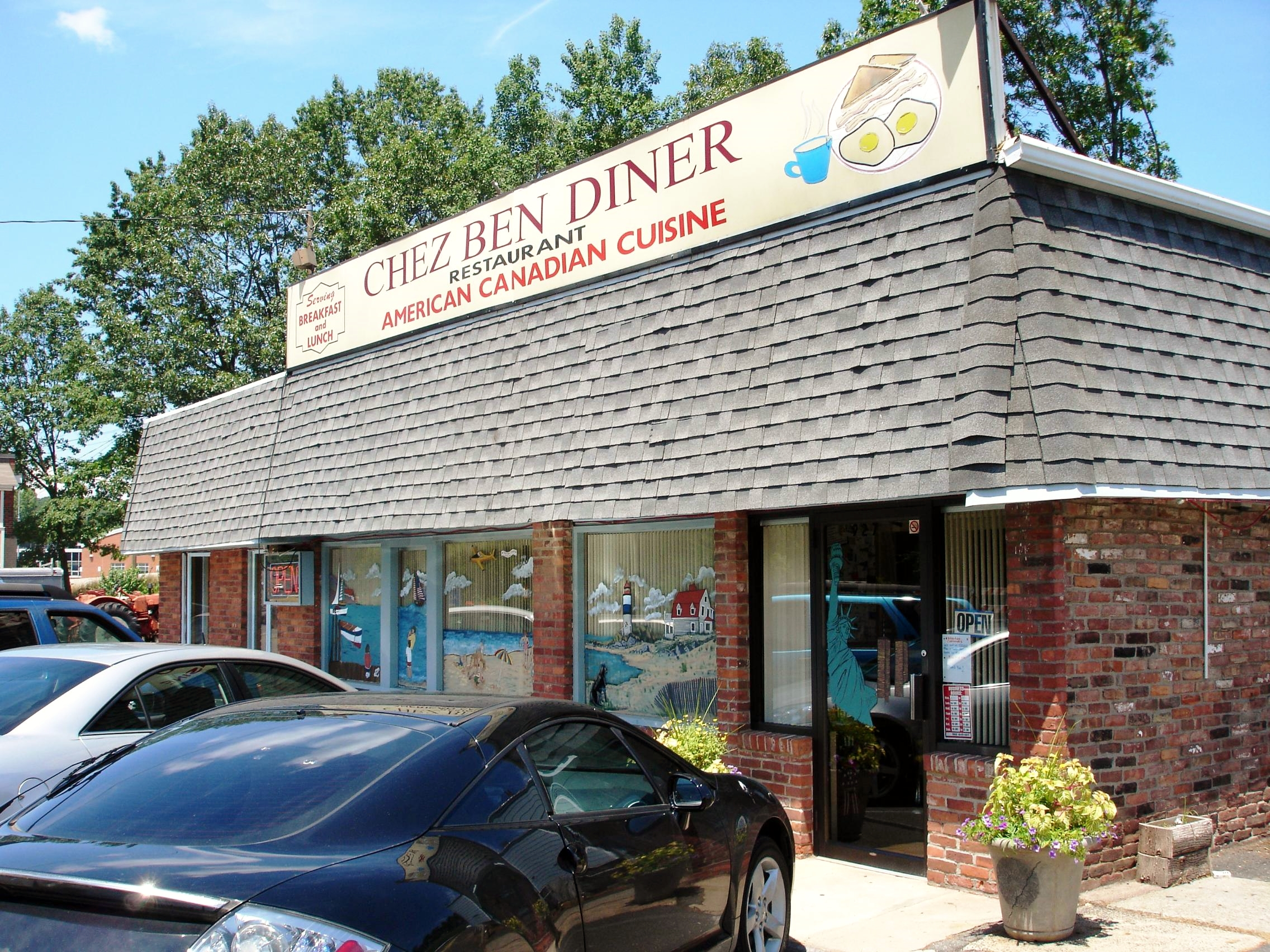 The Chez Ben is one of the southernmost outposts for exotic Canadian cuisine.