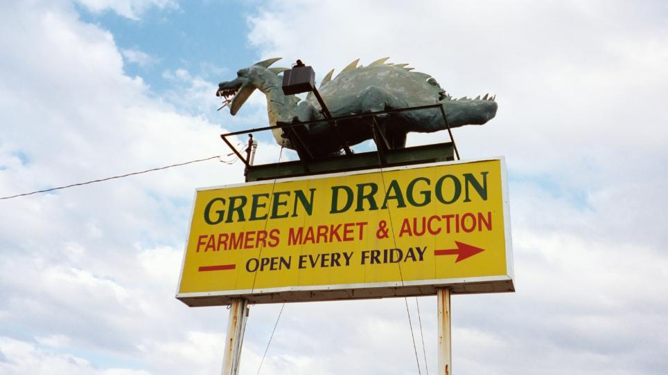 The Green Dragon market has been open since 1932.