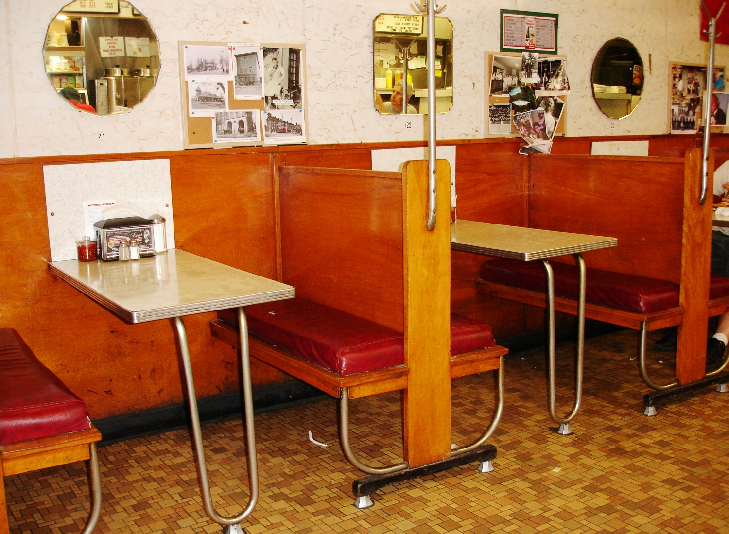Great old booths
