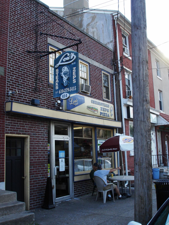 A Main Street, Norristown landmark: Lou's Sandwich Shop