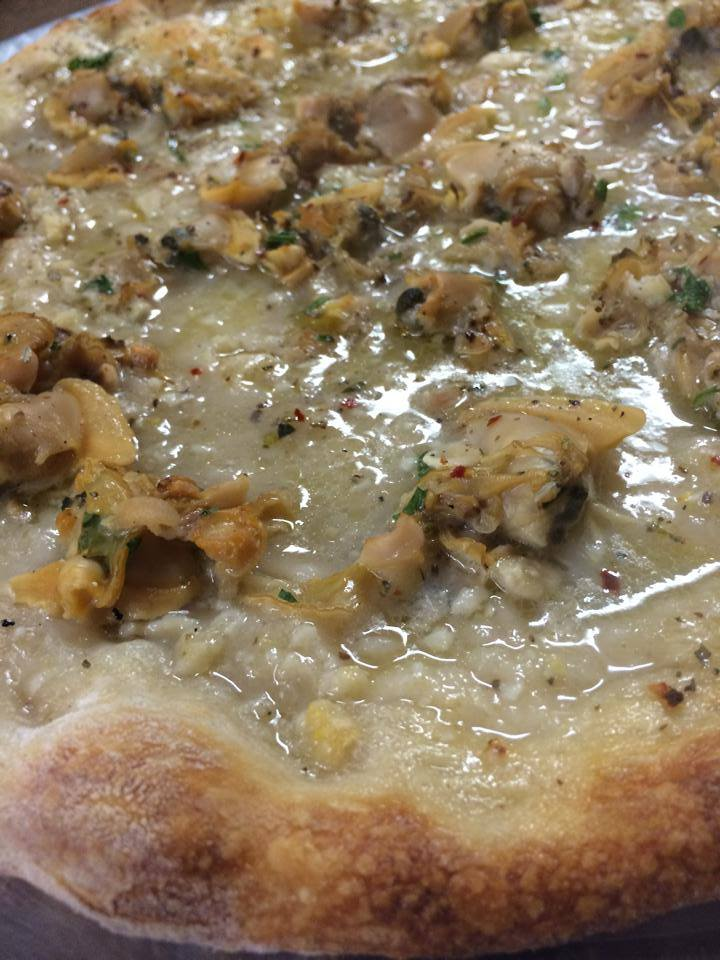 Zuppardi's Apizza, of West Haven, CT, makes a glorious version of Connecticut's pizza specialty, white clam pie.