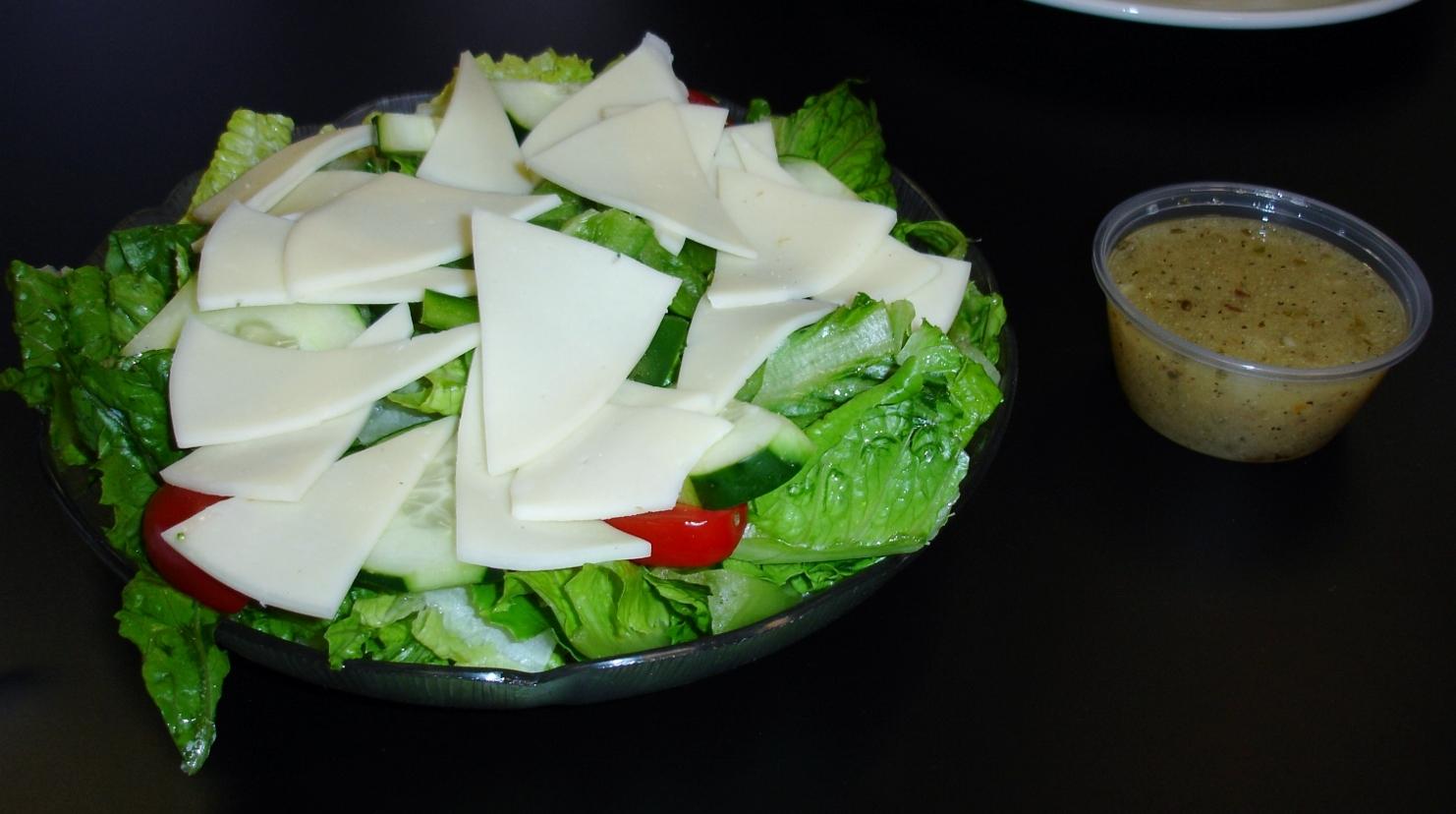 A small provolone salad