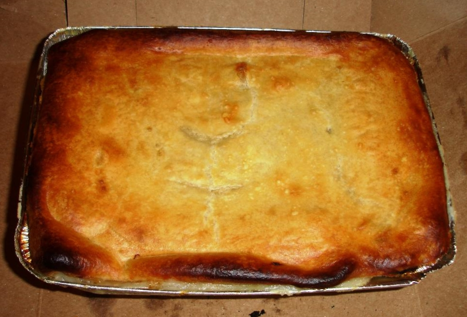 The Apartment Size pie is said to be for two to three people. That's a lot of pie for two people.