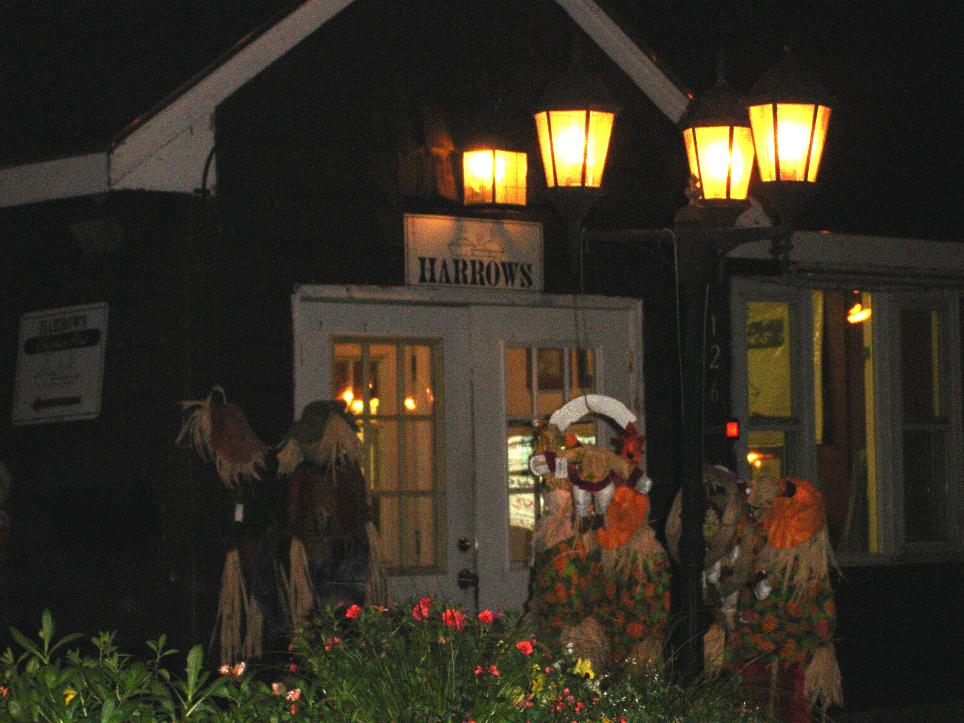 Closing time at Harrows, back when there was a garden center sharing the property.