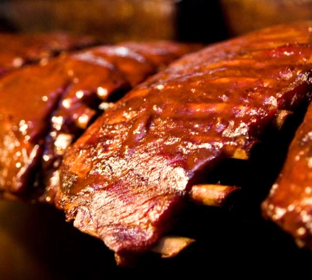 Ribs from Tennessee's Germantown Commissary