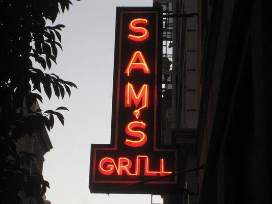 Sam's Grill has been known for ultra-fresh local seafood since 1867.