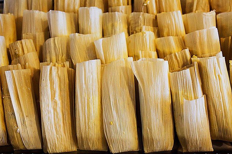 Tamales, Tucson Tamale Company, Tucson, AZ