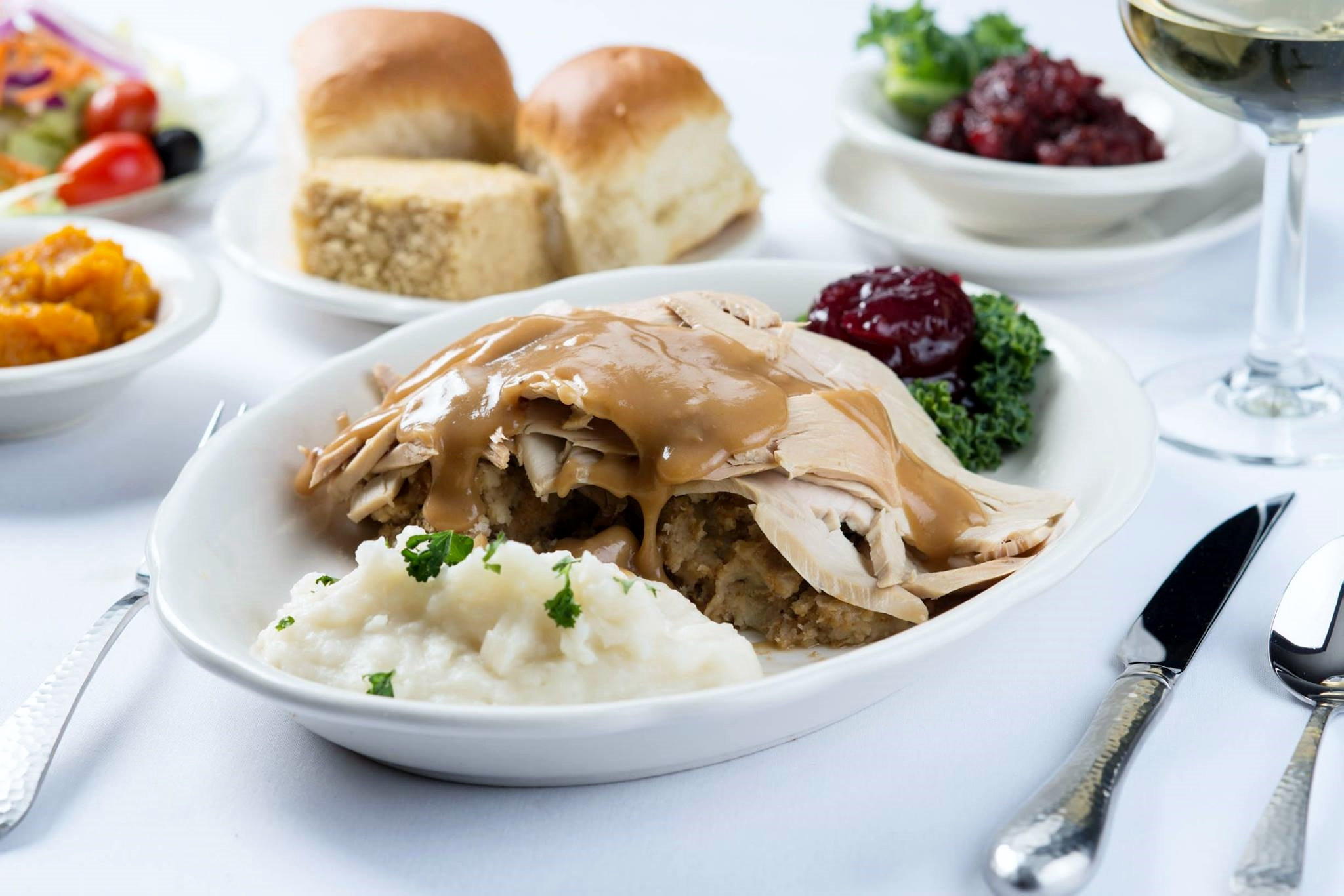Hart's has been serving turkey dinner in New Hampshire since 1954.