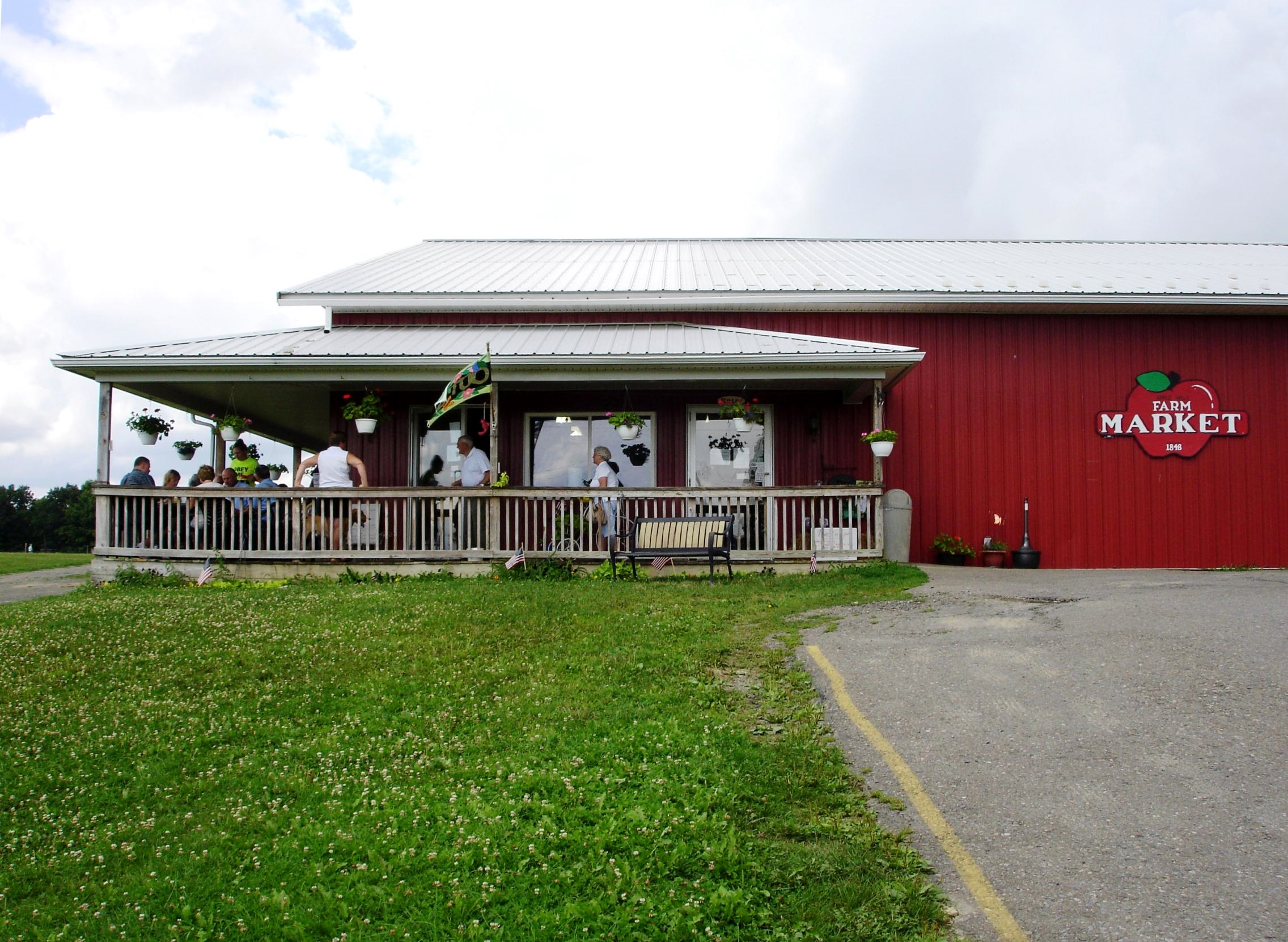 The Apple Dumpling Cafe, on the Apple Hills farm, is only a 15-minute drive from downtown Binghamton.