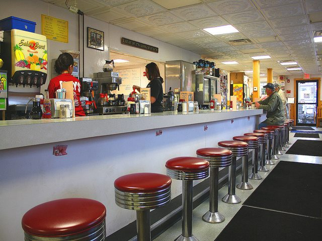 Becky's Diner has been at the Portland waterfront since 1991.