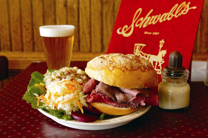 Schwabl's of West Seneca, NY is back to serving those Buffalo favorites, beef on weck and Tom and Jerry's.