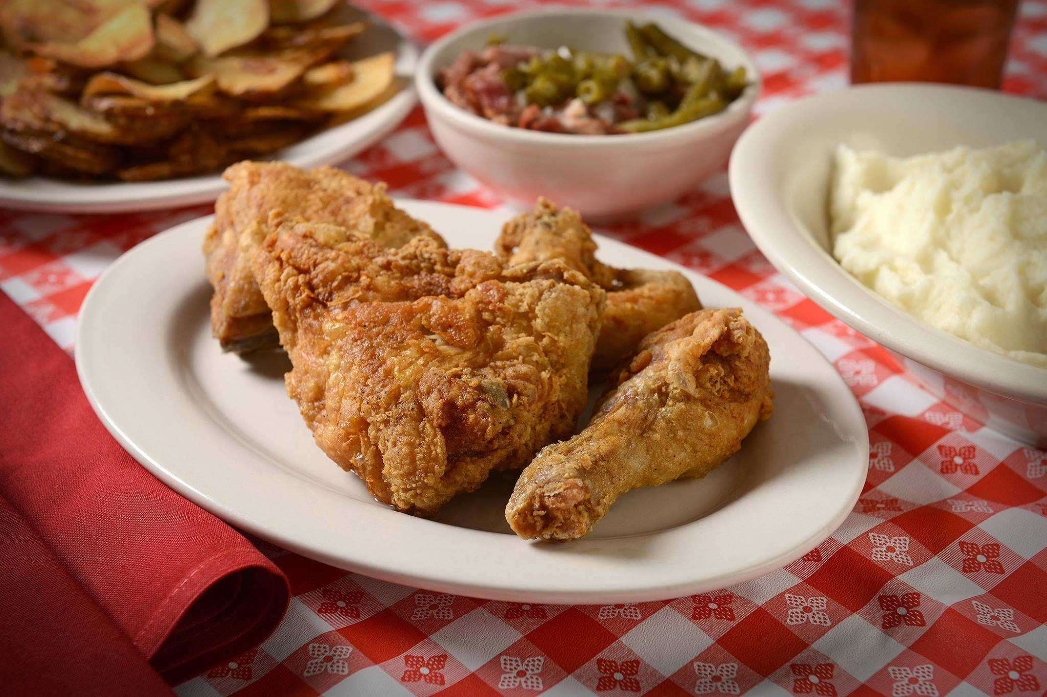 Overland Park is the luck recipient of the third Stroud's fried chicken joint.