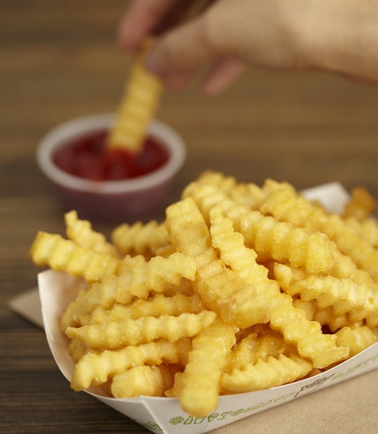 Frozen crinkle-cut fries are returning to Shake Shack.
