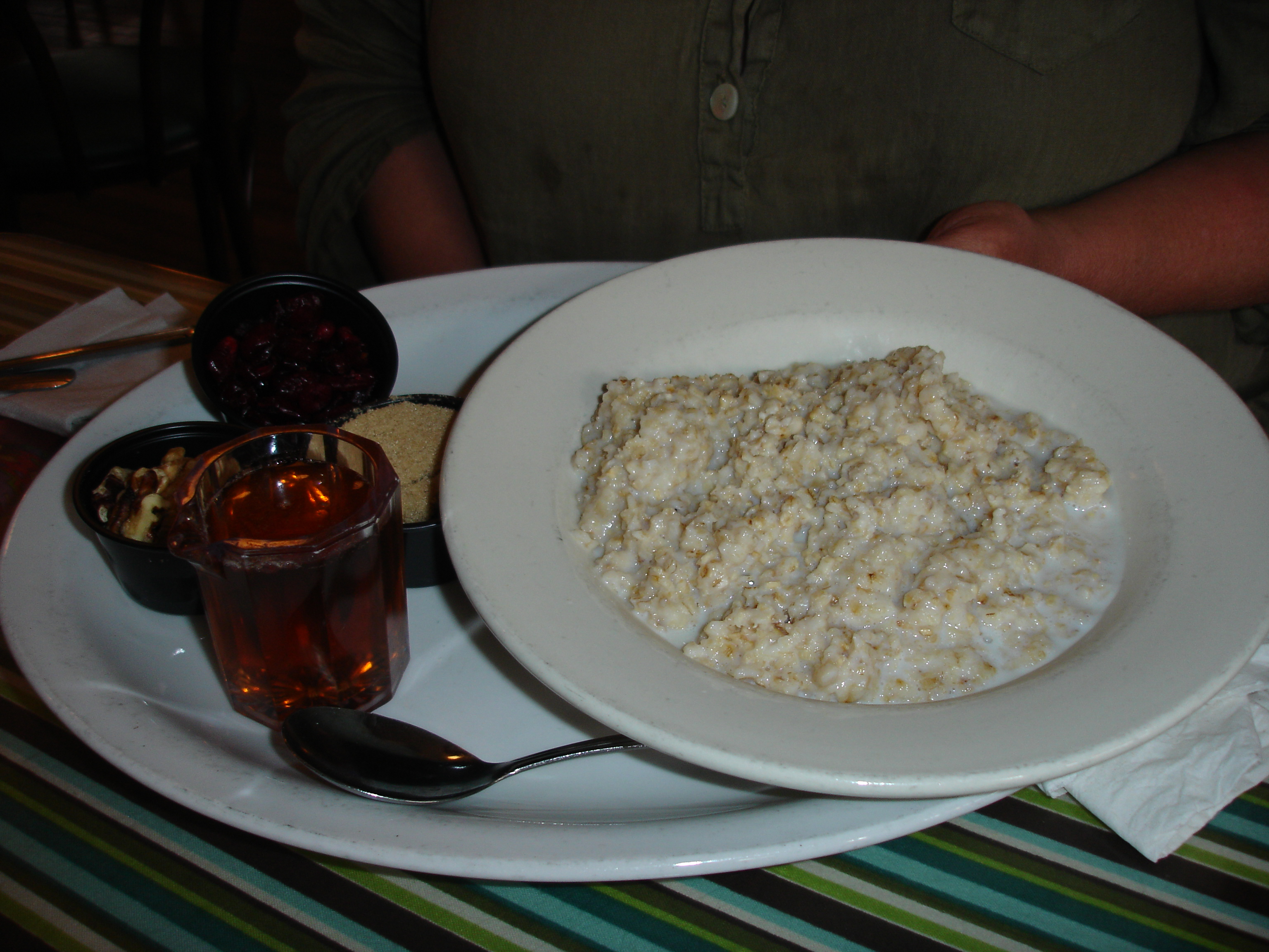 Oatmeal with all the fixin's