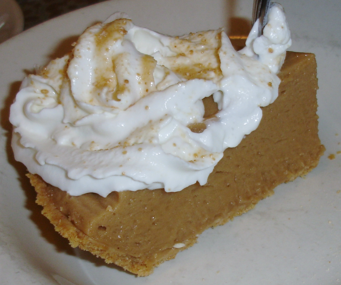 Vermont Maple Cream Pie was what brought us back to the cafe the next morning.