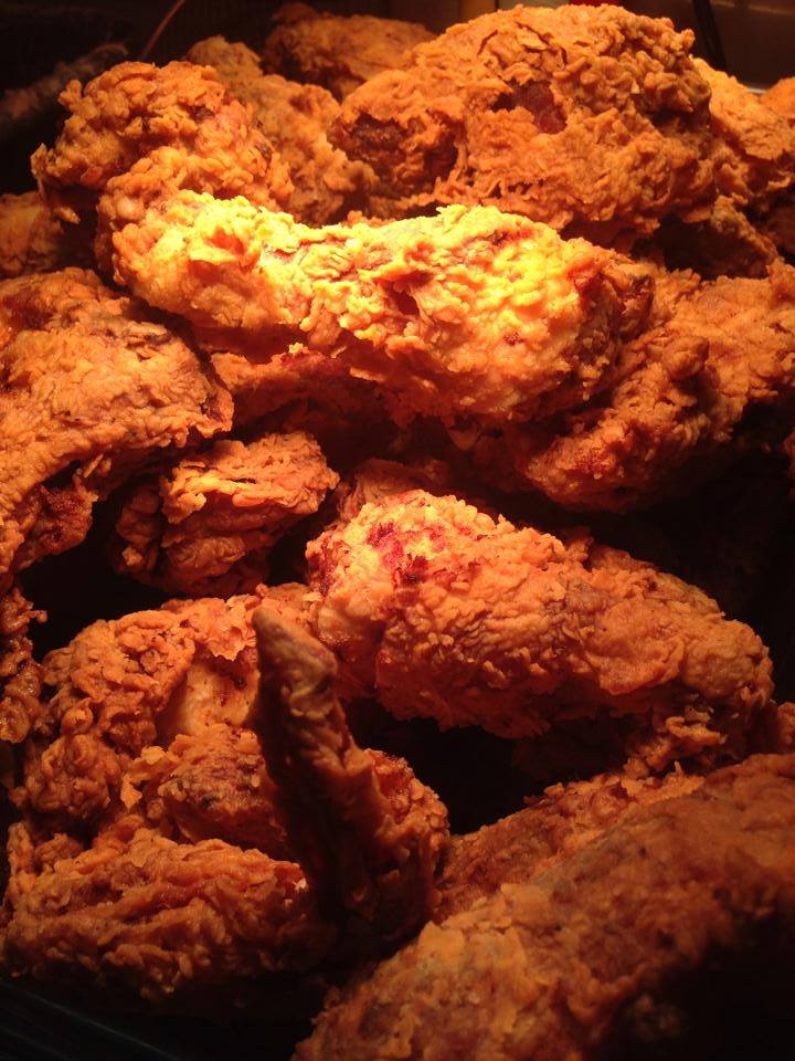 Royer's of Round Top, TX is famous for their pies, but don't dismiss their fine fried chicken!