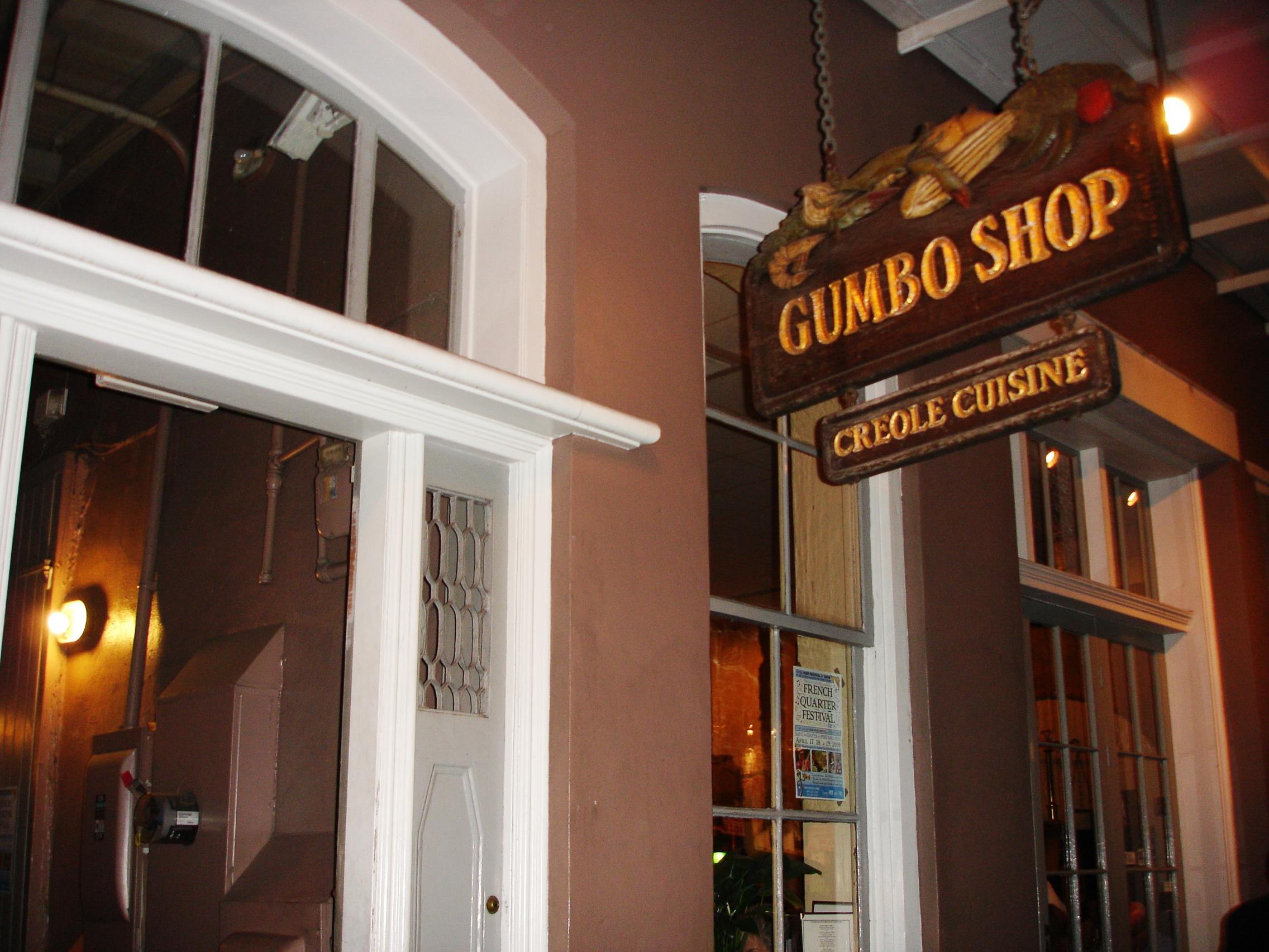 Pay attention to the name. Get the gumbo. It's not the city's best. But it's a good one.