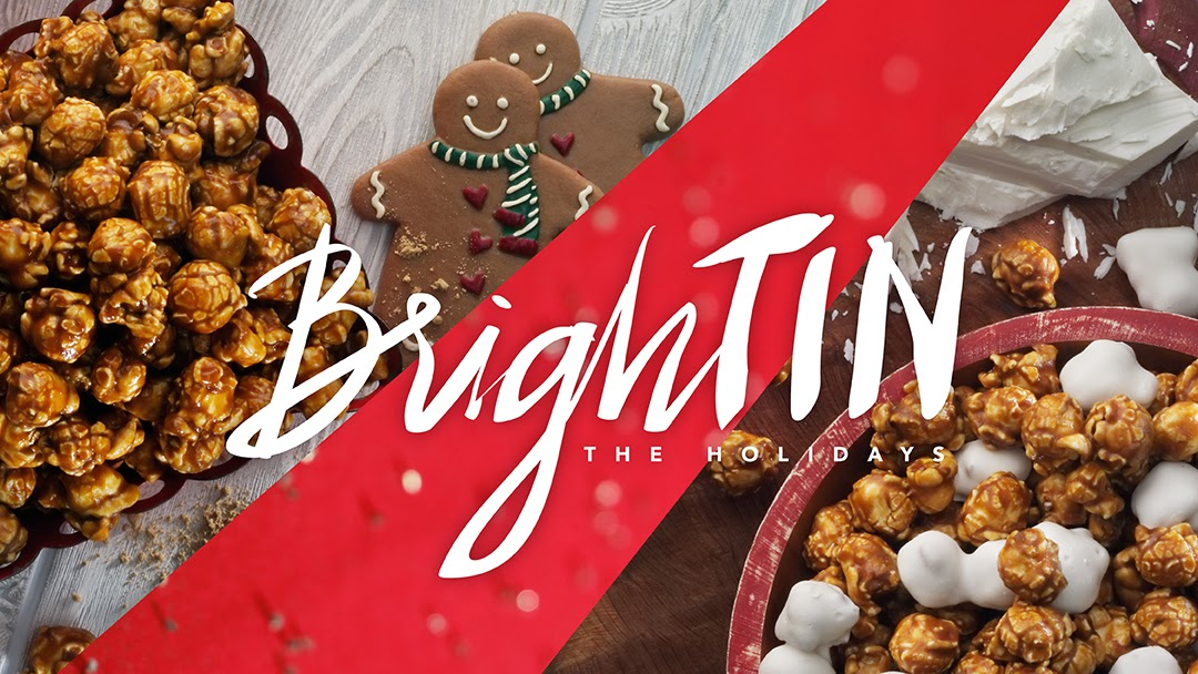 Two new flavors for the holidays: Holiday Mix and Gingerbread CaramelCrisp