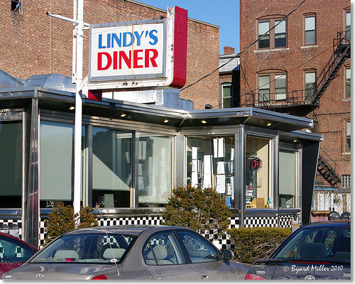 Lindy's Diner in Keene, NH is a mandatory stop for anyone interested in New England cuisine. Baked beans, croquettes, codfish cakes, pickled tripe - all homemade.