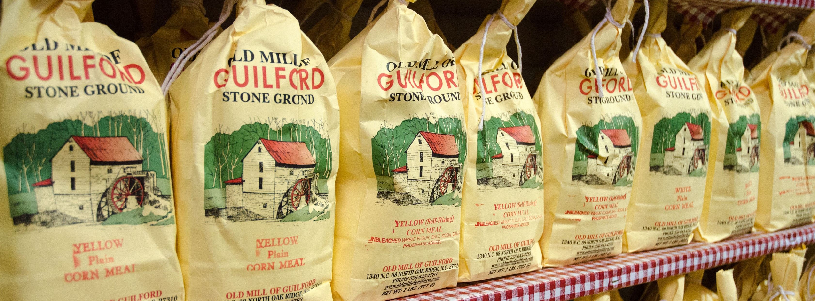 Mast General Store offers a selection of Carolina grits and meals.
