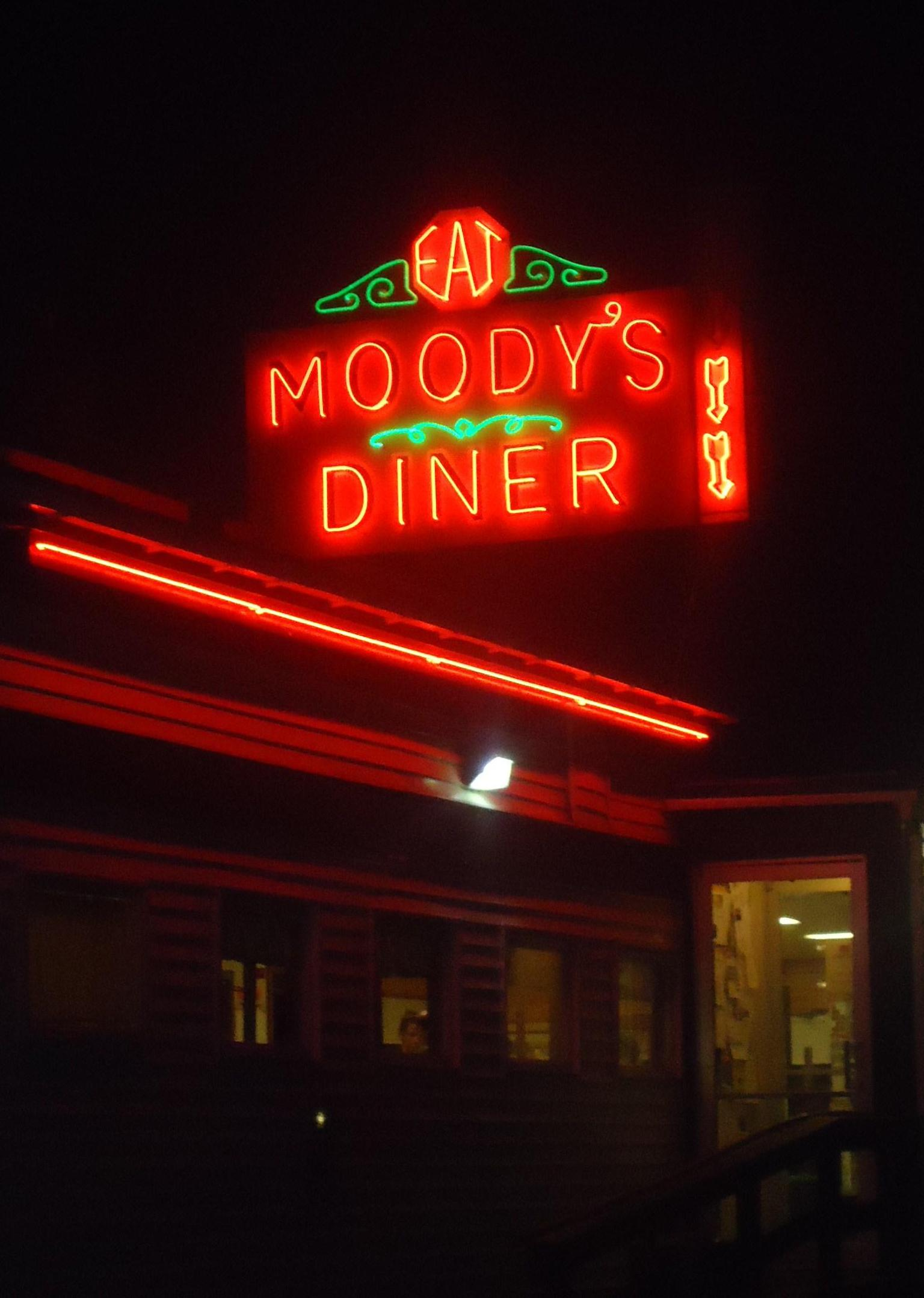 Moody's Diner is a classic old Maine diner from 1927.