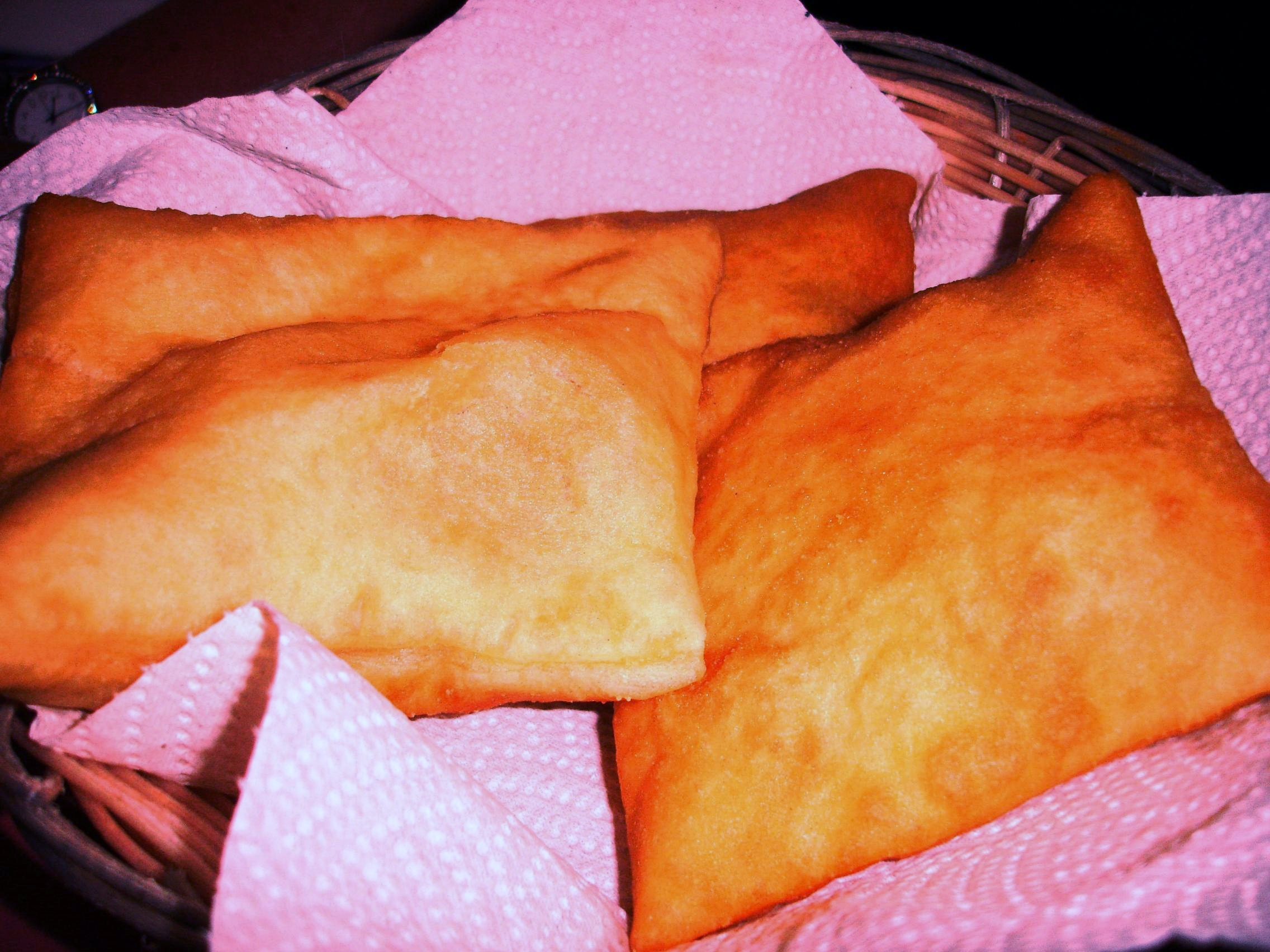 Fresh sopaipillas are an ideal medium for soaking up some of the richly flavored chile sauces at Sadie's.