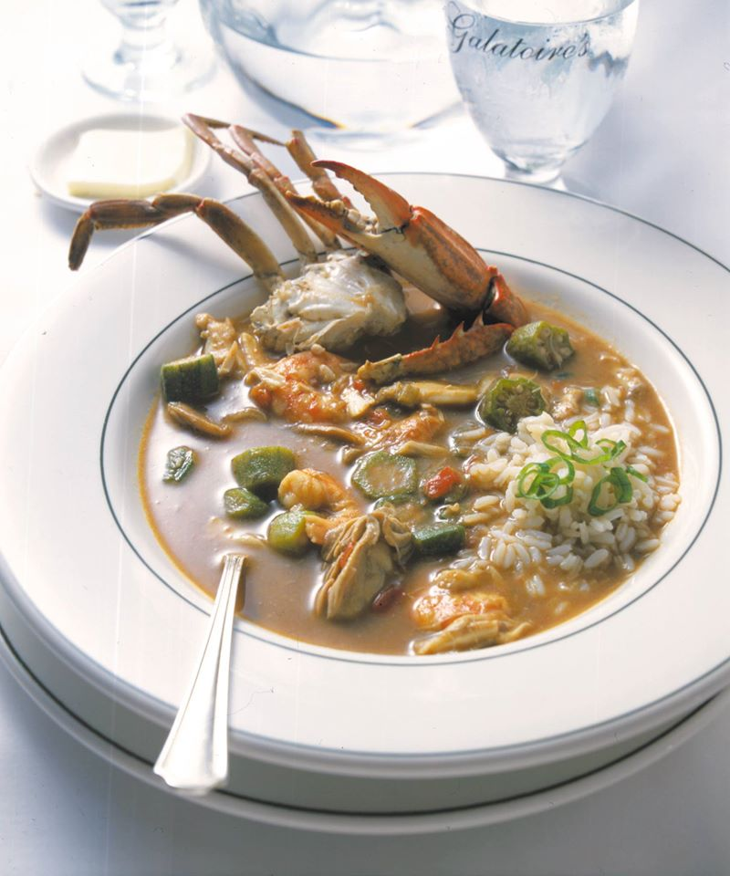 Seafood gumbo at Galatoire's, evidence of New Orleans' lunch superiority