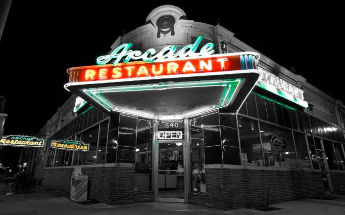 The Arcade is the oldest restaurant in Memphis.
