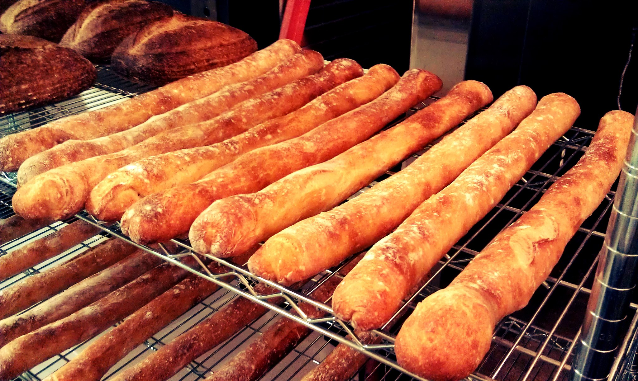 Baguettes from Amelia's Bread of Indianapolis
