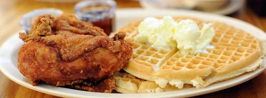 Roscoe's House of Chicken and Waffles from Los Angeles is on The Daily Meal's roster of top fried chicken spots in America.