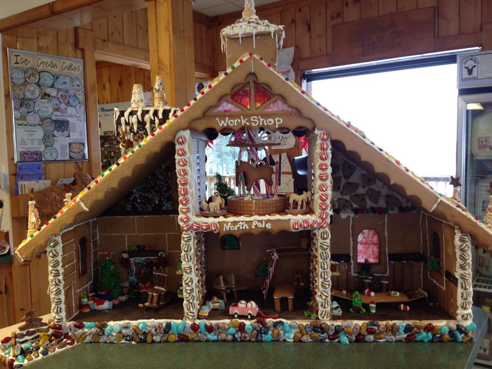 Gingerbread House, Moomers Homemade Ice Cream, Traverse City, MI