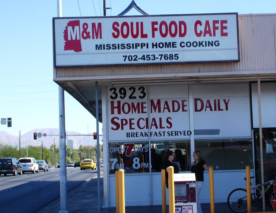 We are not certain, but we believe this to be a branch of a Los Angeles soul food classic.