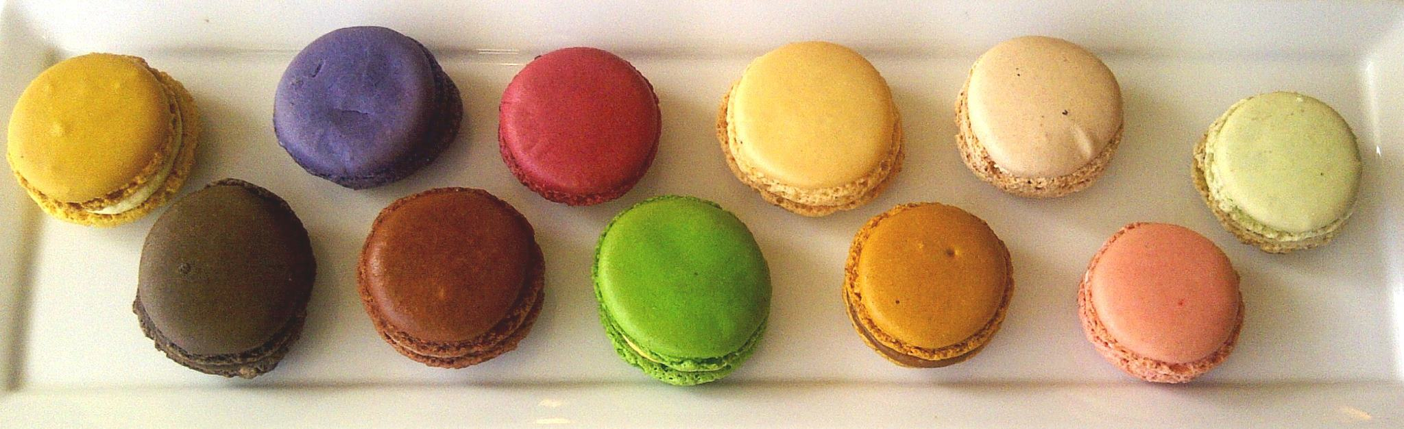 Meli-Melo's French macarons