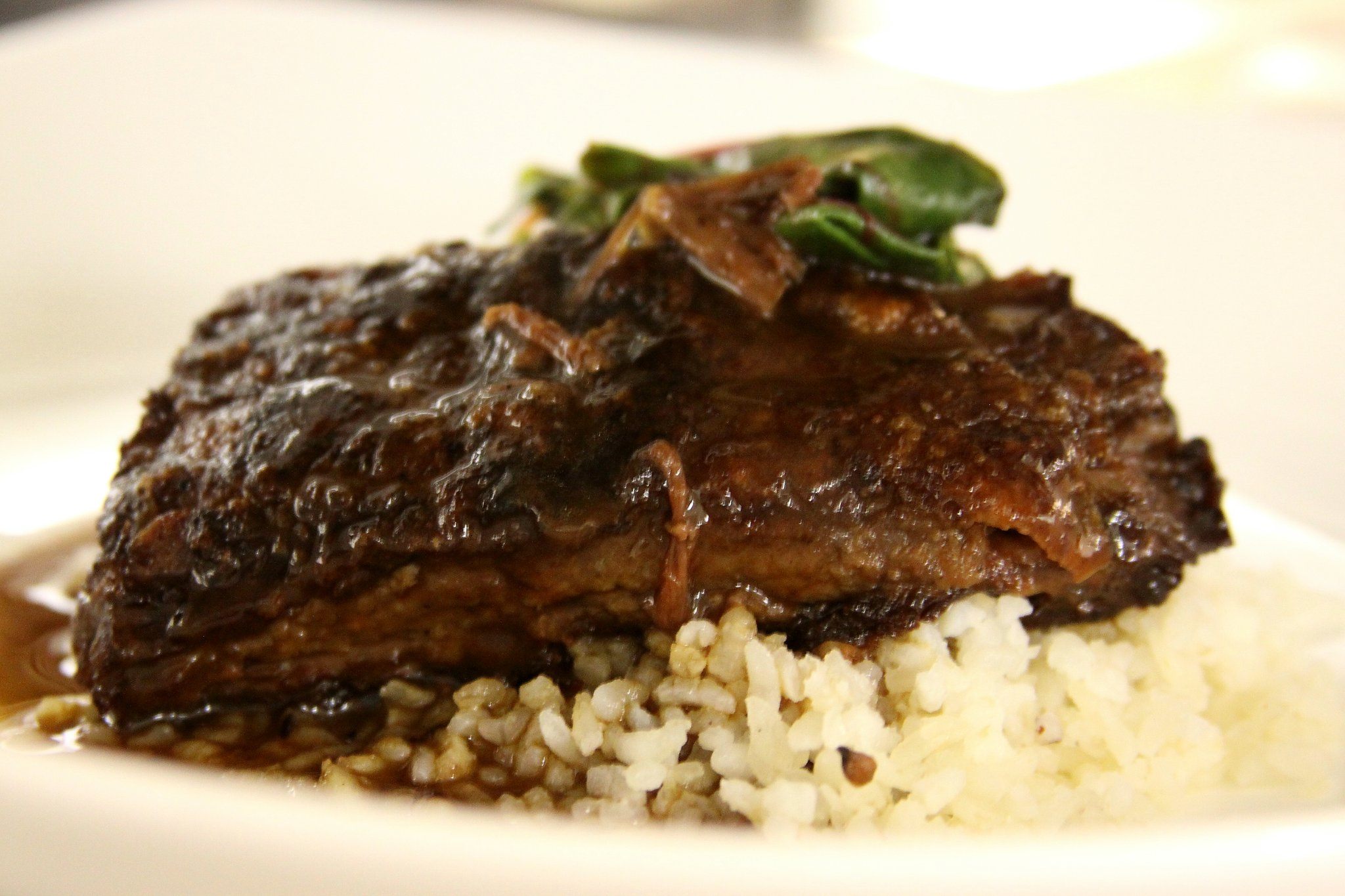 Braised short rib will be on this year's Braise & Brew dinner.
