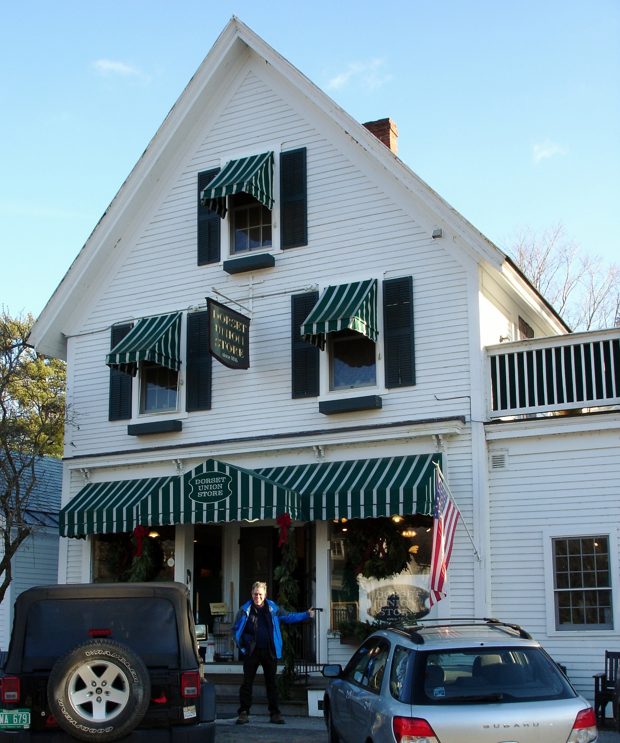 The Dorset Union Store sits across the street from The Dorset Inn, on the picture-perfect town green.