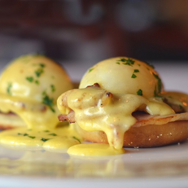 A classic Eggs Benedict at the classic Brennan's