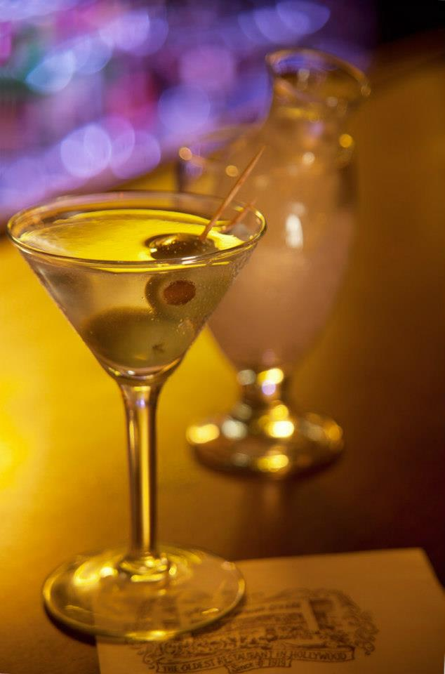 THE drink at Musso & Frank: the martini
