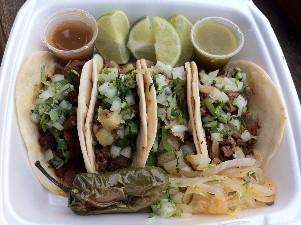 The tacos at Fuel City are some of the best, and cheapest, in Texas.