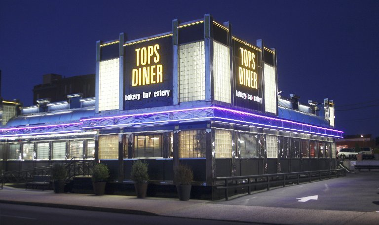 Thrillist named East Newark's Tops Diner New Jersey's most iconic restaurant.