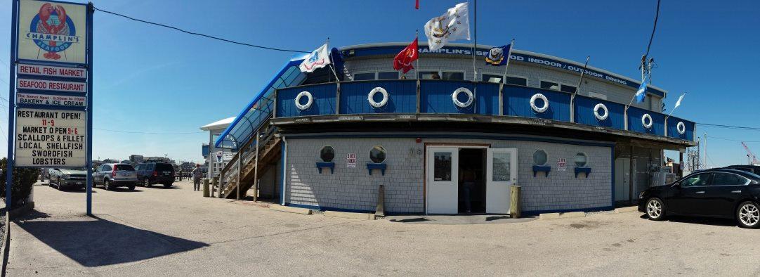 Champlin's Seafood Deck, Narragansett, RI