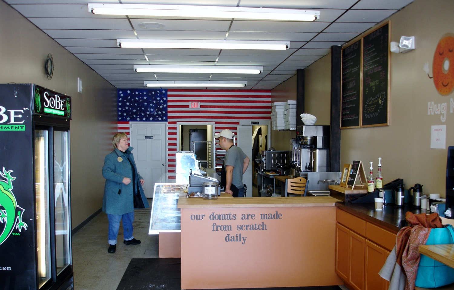 Interior, Donuts Time Cafe, Hamilton, NJ