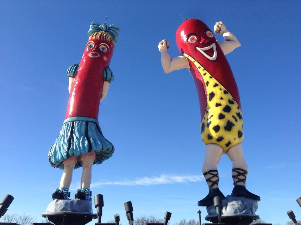 Are Maurie and Flaurie getting the munchies?