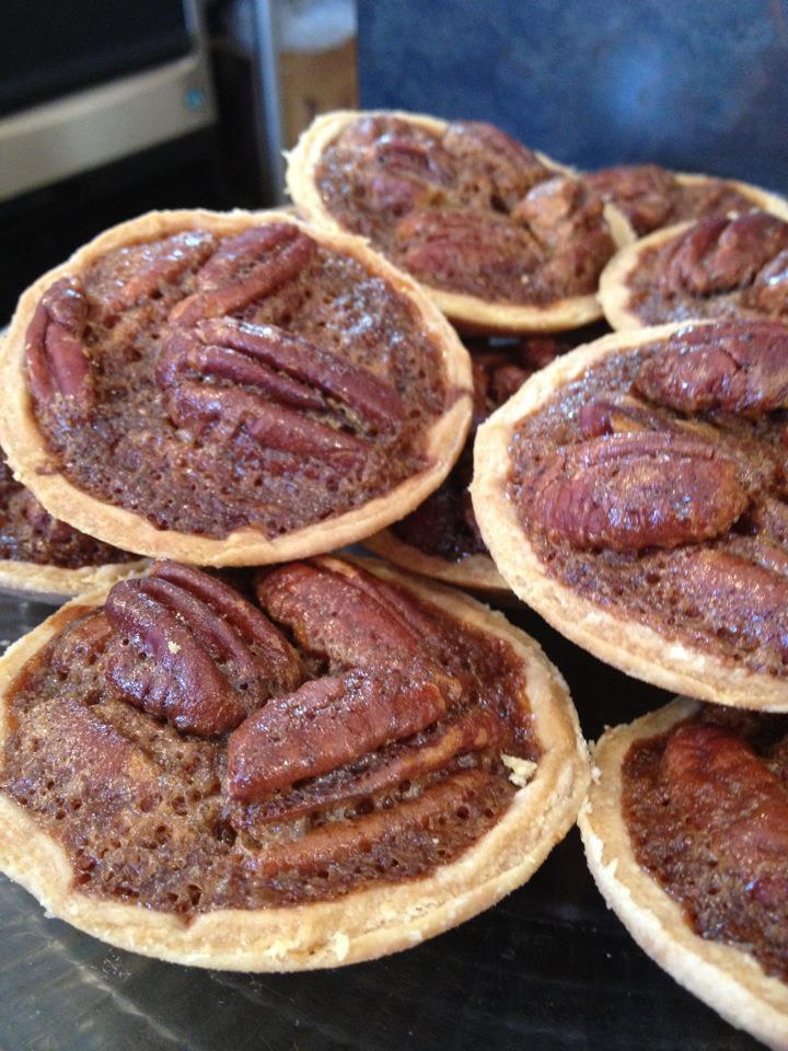 Lauren Mitterer's pecan tartlets at WildFlour Pastry of Charleston, SC