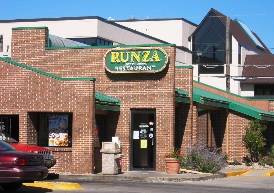 Runza restaurants are very similar to other fast-food chains, with the exception that they also serve the Runza.