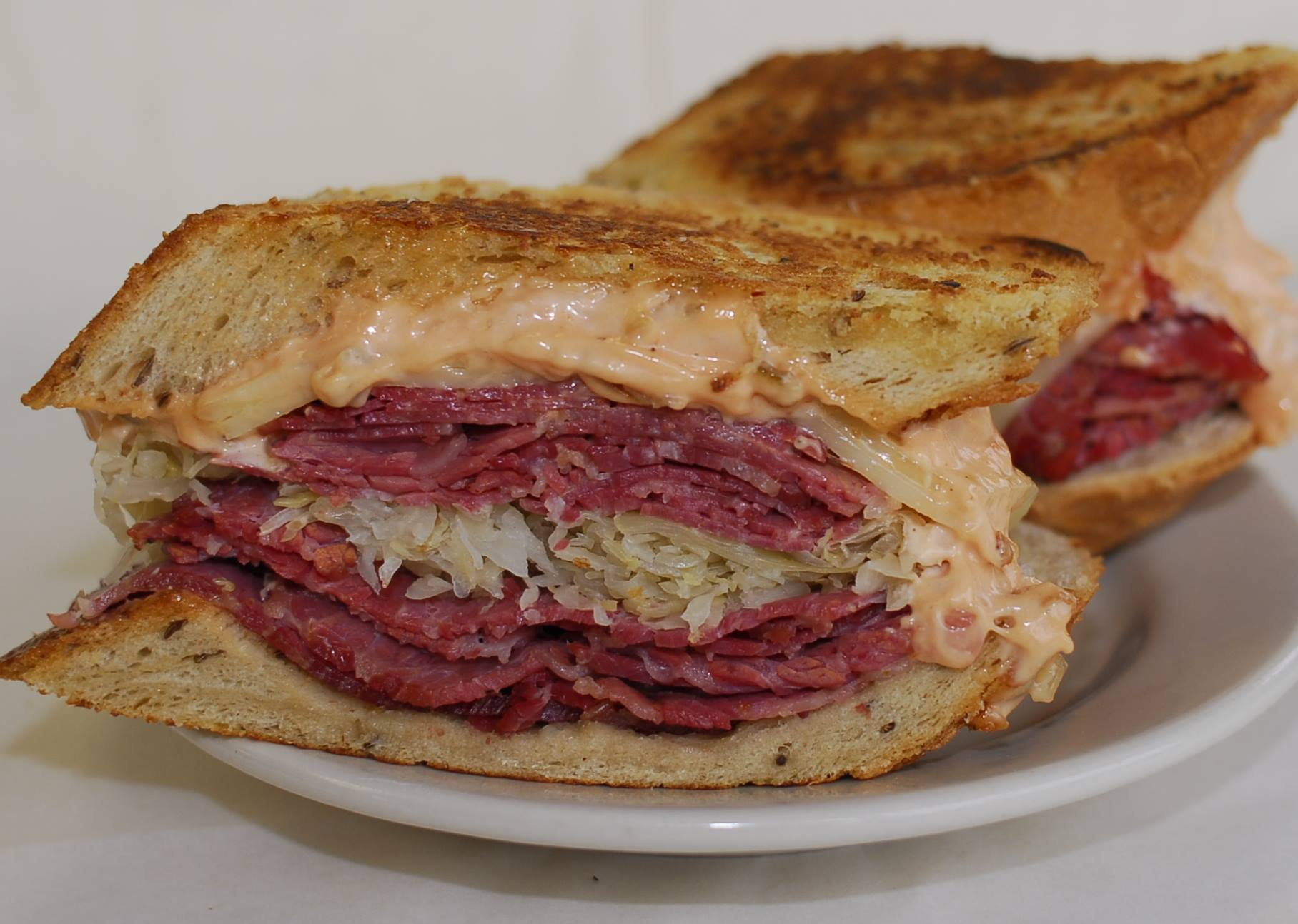 A Reuben from Shapiro's Deli