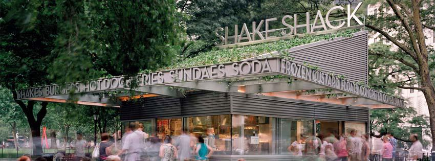 The original Madison Square Park Shake Shack