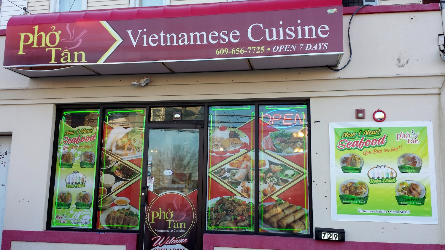 Pho Tan, as far as we can tell, is the only Vietnamese restaurant in Trenton.