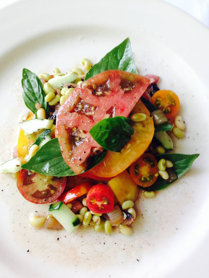 An heirloom tomato salad from the Highlands Bar and Grill of Birmingham, AL.
