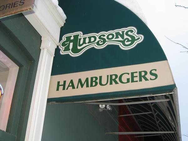 Hudsons Hamburgers