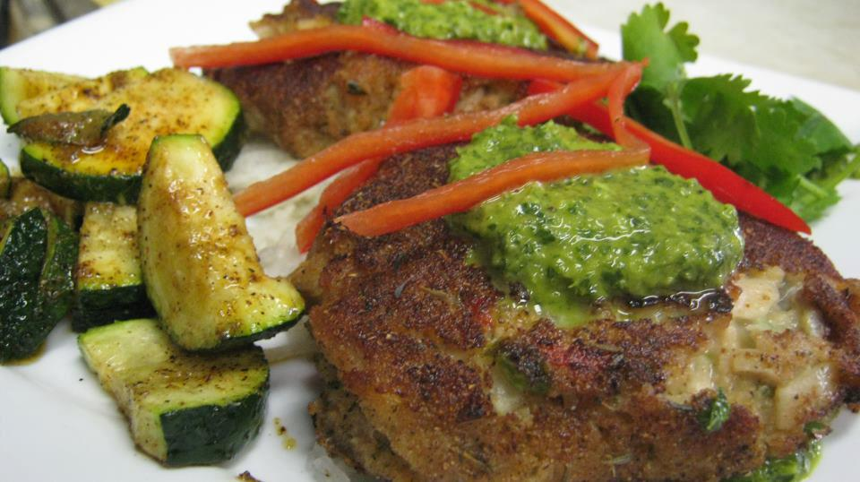 What else can be done with razor clams? How about Jamaican Jerk Seared Razor Clam Cakes?